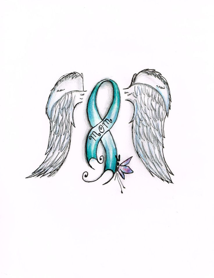 Ovarian cancer Ribbon. by the-caffiene-panda on DeviantArt