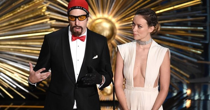 Watch Sacha Baron Cohen Pull Off Ali G Oscars Prank -- Sacha Baron Cohen reveals he wasn't allowed to present at the Oscars as Ali G, but he pulled off the ultimate prank just before going on stage. -- http://tvweb.com/news/oscars-2016-sacha-baron-cohen-ali-g-prank-video/