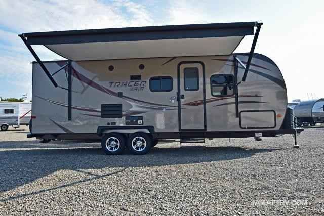 2016 New Prime Time TRACER 240AIR Travel Trailer in Oklahoma OK.Recreational Vehicle, rv, 2016 Prime Time TRACER 240AIR, 2016 PRIME TIME TRACER 240 AIR, ULTRA LIGHT TRAVEL TRAILER WITH SLIDE OUT! ADVANTAGE PACKAGE