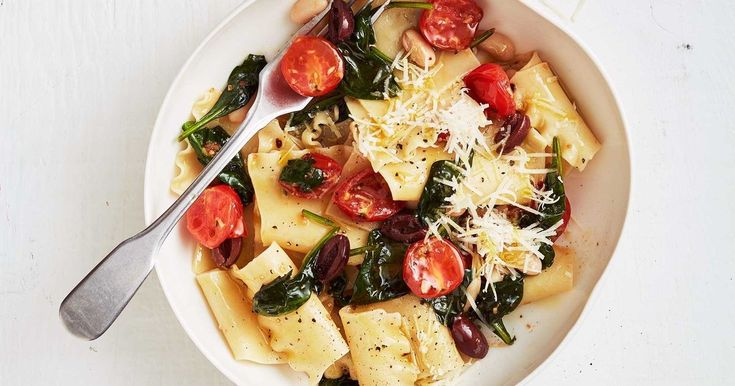 This is our favourite budget pasta dish to throw together on the last day of the week or month, when there's nothing left in the fridge.