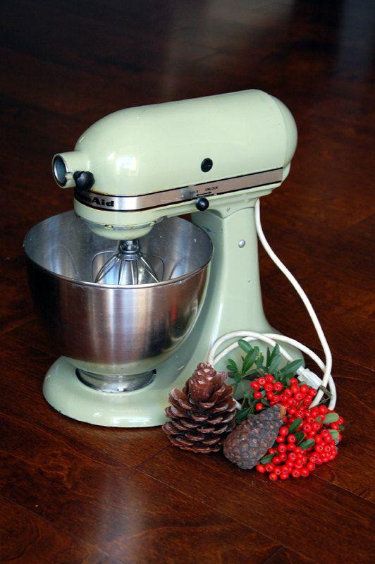 sale 90 vintage avocado green kitchen aid mixer the perfect gift