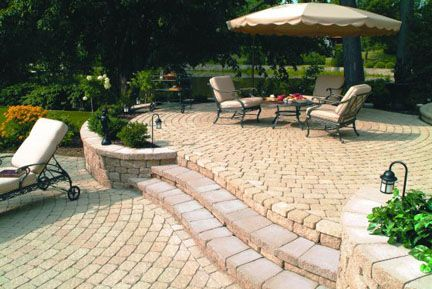 Patio Paver Stone Designs, DIY Makeover Ideas And Most Popular Building  Materials.