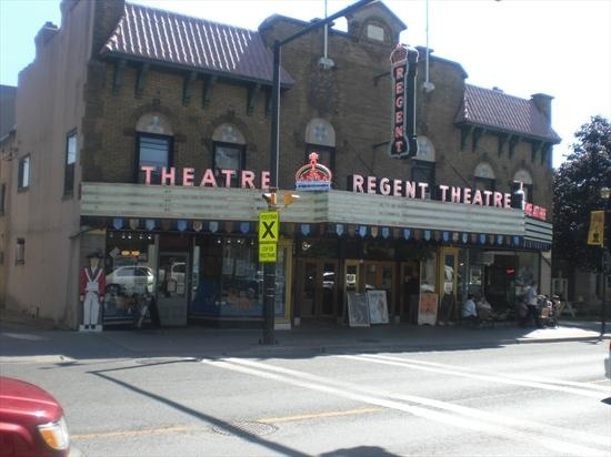 Regent Theatre - Picton Ontario. Main stage for the annual Prince Edward County Jazz Festival.