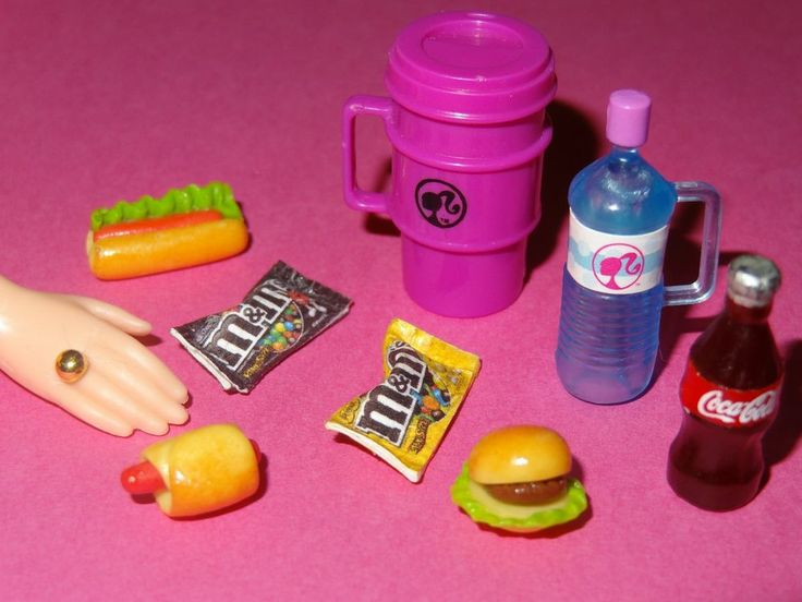 Barbie Toy Food : Images about barbie accessories on pinterest