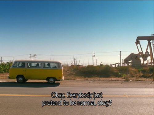 okay, everybody just pretend to be normal, okay?