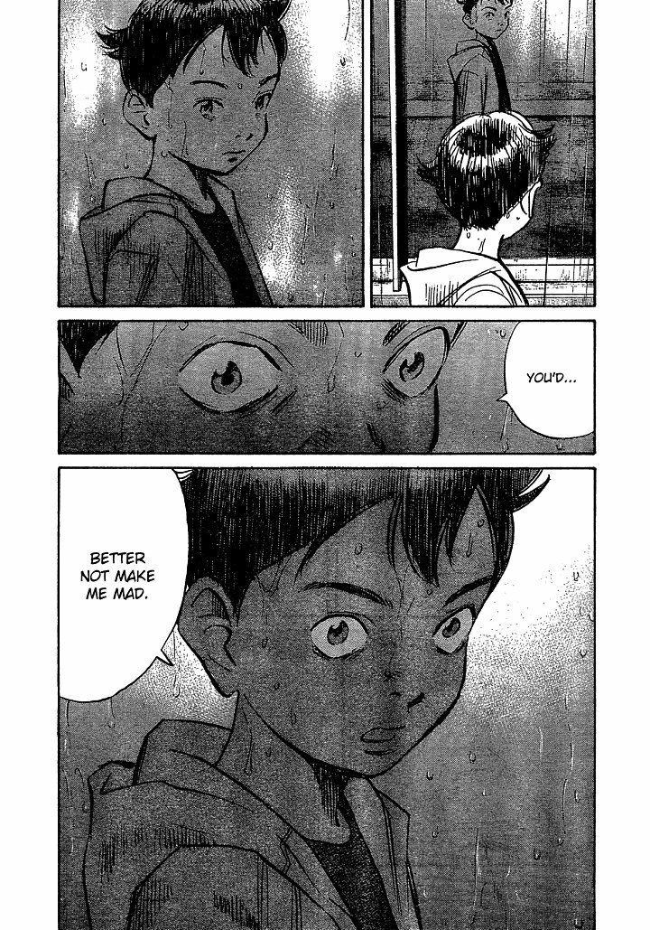 Page 14, Act 57: Whereabouts of the Heart from Naoki Urasawa's Pluto Volume 8