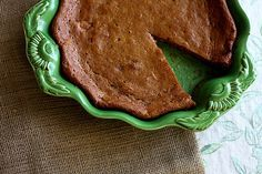 Indiana Persimmon Pudding   by joy the baker..A staple during the holidays in all Indiana kitchens!!