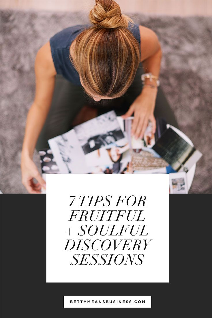 An effective discovery session can be your most powerful selling tool to win clients. Become the master of soulful discovery sessions that convert with these 7 tips.
