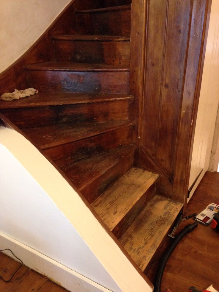 Stairs, before