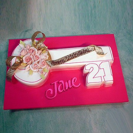 Key Shaped Birthday Cake Google Search Special
