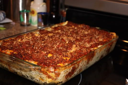 Mary Cooks: The Pioneer Woman's Lasagna