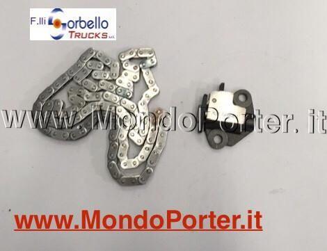 Kit  Distribuzione a catena  Piaggio Porter 1.3 Benzina Multitech - Mondo Porter