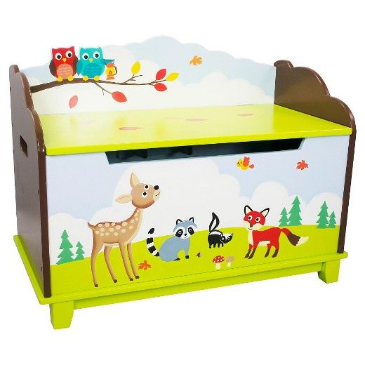 Enchanted Woodland Toy Chest Wood - Teamson : Target