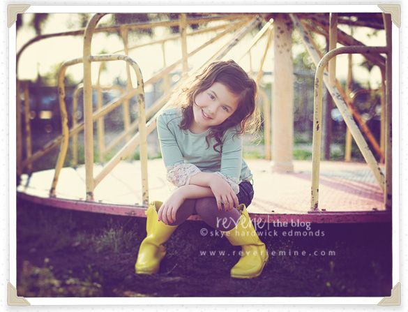 want to do a whimsical photoshoot with family at an old park/playground