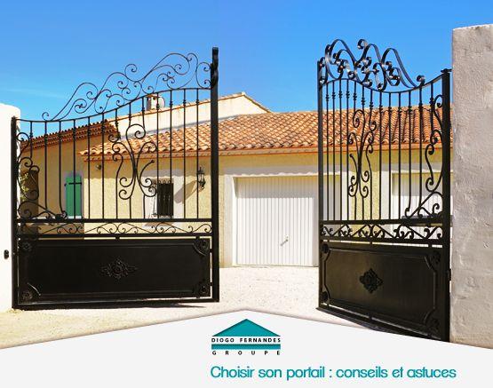Choisir son portail : conseils et astuces pour embellir et protéger votre maison. http://www.diogo.fr/fiches-techniques-maison/fiche/124/choisir-son-portail--conseils-et-astuces-pour-embellir-et-proteger-votre-maison/