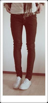 Кеды найк узкие джинсы фото