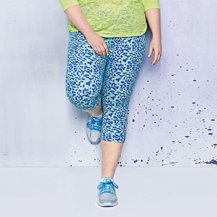These printed #capris are super stylish and come in 3 different shades. #summeractive #SearsWishlist