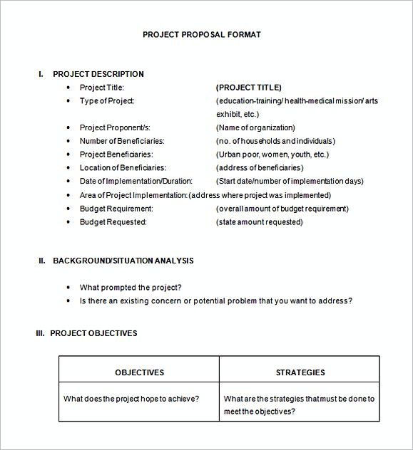 51 Project Proposal Template How To Make A Convincing Proposal
