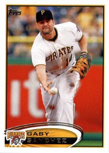 2012 Topps Update #US-298 Gaby Sanchez - Pittsburgh Pirates (Baseball Cards) by Topps Update. $0.88. 2012 Topps Update #US-298 Gaby Sanchez - Pittsburgh Pirates (Baseball Cards)