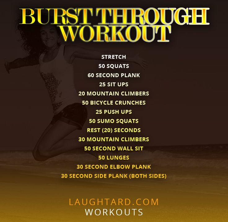 Burst Through Workout