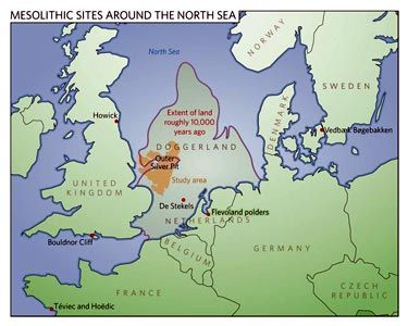 22 best anthropology sites maps images on pinterest human doggerland is a former landmass in the southern north sea that connected great britain to mainland europe duringafter the last ice age surviving until or gumiabroncs Image collections