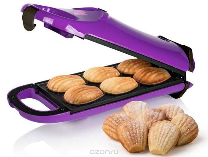 """Princess 132404 """"Мадлен"""", Purple печенница - купить в интернет-магазине по лучшей цене. Вафельница с быстрой доставкой от OZON.ru - Выбирайте!"""