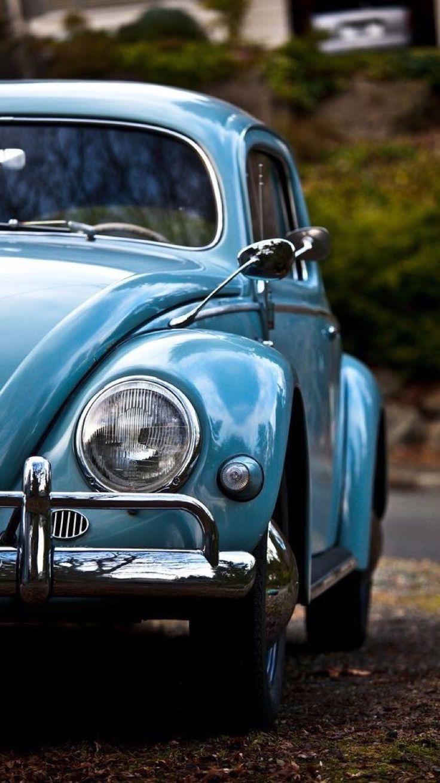Selbst habe endlich meinen blauen Old Fashion VW AG Es ist großartig pro #artig… – Volkswagen