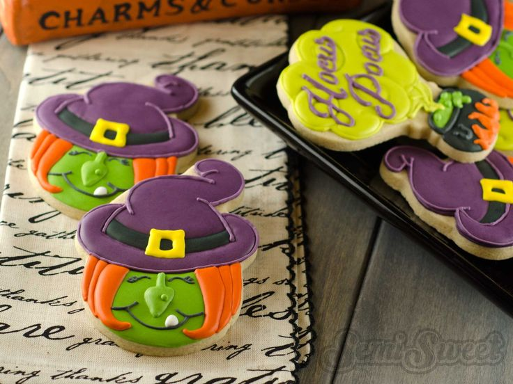 how to make halloween witch cookies halloween cookies decoratedhalloween sugar