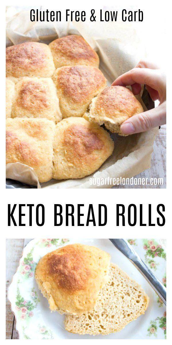 Pull Apart Keto Bread Rolls In 2020 Keto Bread Lowest Carb Bread Recipe Keto Buns