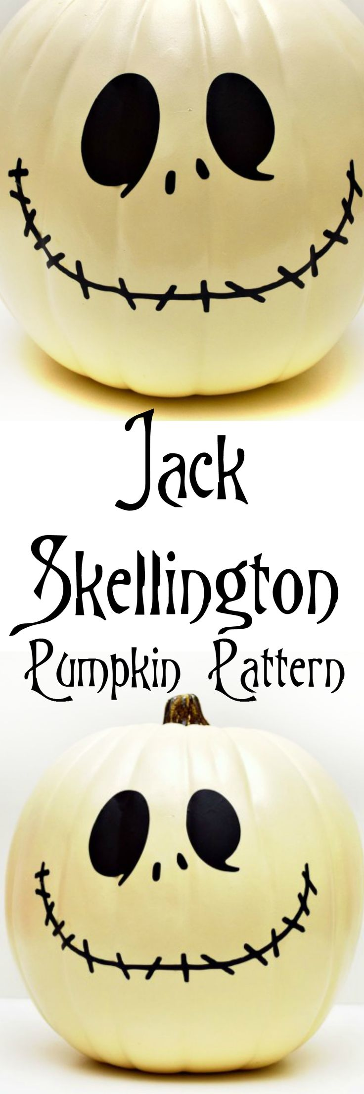 jack skellington pumpkin pattern and cut file