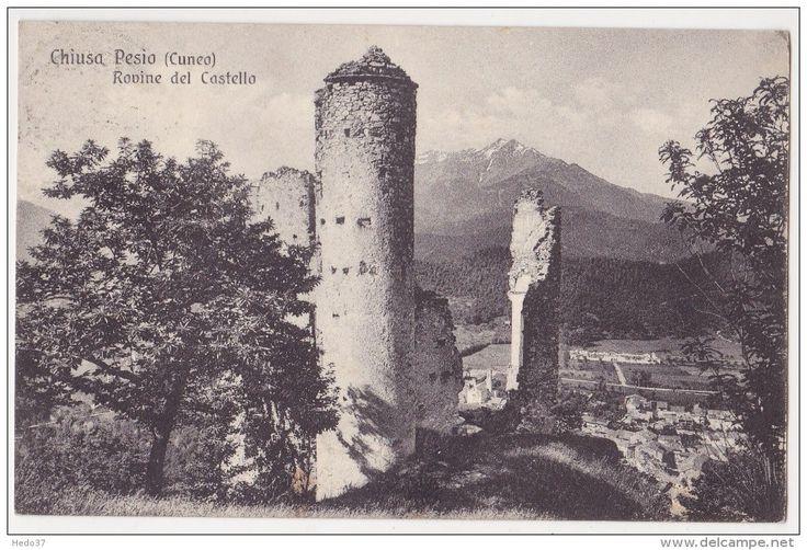 Cuneo - Chiusa Pesio - Rovine del Castello