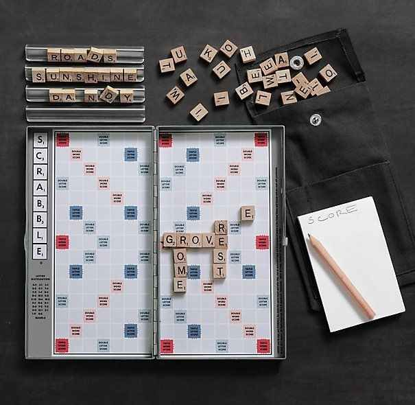 Travel Scrabble | 10 Cool Tech Gadgets For Travel That You Can Purchase