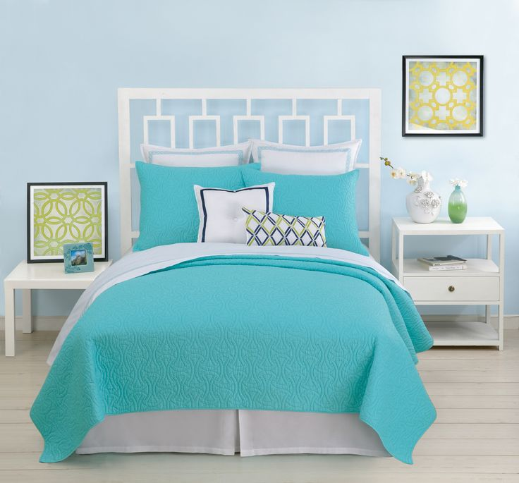 Bedroom : The Mesmerizing Small Bedroom Furniture Sets Along With Turquoise Bed Linen Style Together With White Iron Bed Frame And Plus Traditional Nightstand And Wall Painting On The Walls Designing The Comfortable Bed Linens Green And White. Large Single Beds. Homebase.