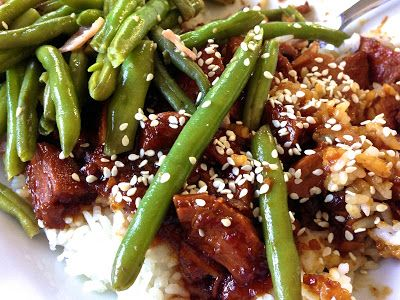 GF Sesame Chicken In The Crock Pot. Here is a gluten free meal with lots of flavor!