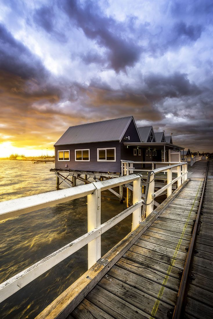 ~~The Dash, Busselton Jetty, sunrise, Western Australia by Brian Kinson~~