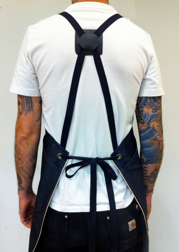 HONED Signature Apron Limited Edition Denim by honedcraft on Etsy, $75.00 ohhhh…
