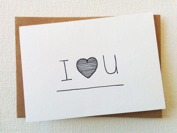 Card Love Anniversary Valentine Wedding Handmade by #SweetAndMellow #Card #Love #Handmade