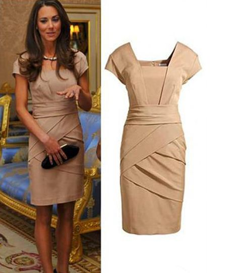 wholesale European Style Solid Color Square Neck Sheath Dress