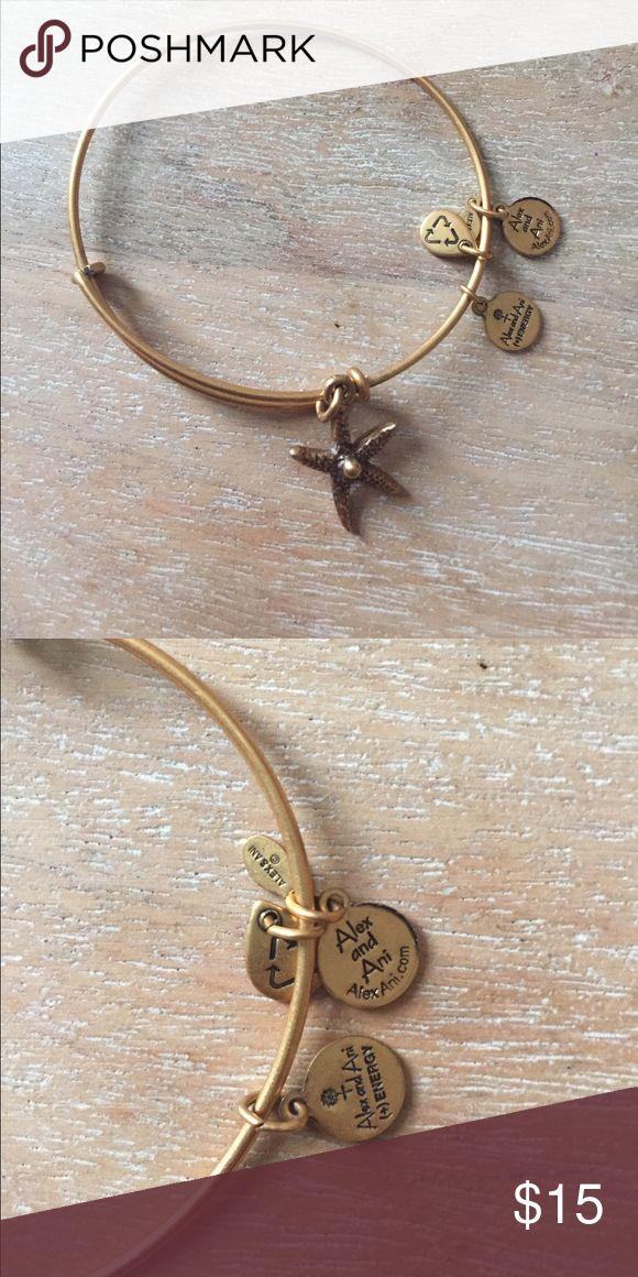 Alex and Ani Starfish Bracelet Alex and Ani Starfish Bracelet. Perfect Condition! Worn once. Alex & Ani Jewelry Bracelets