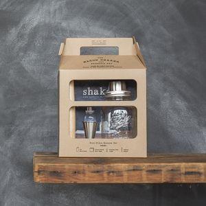 Shop: Mason Shaker. The mason jar meets cocktail shaker and other barware tools: jigger, muddler & more.
