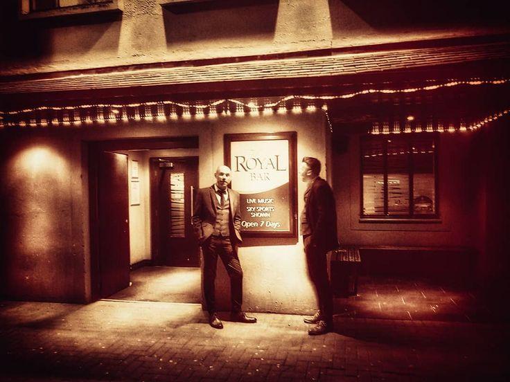 Kevin And Ewing At The Royal Bar Cumnock Ayrshire Wedding Ceilidh Band