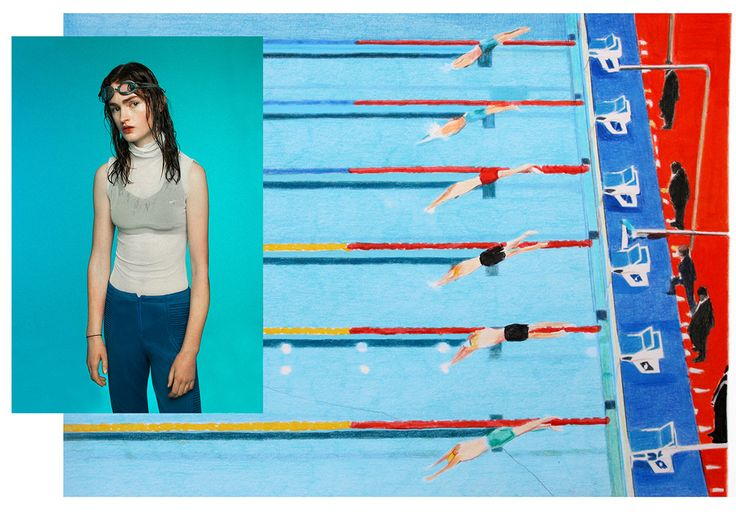Swim Deep Photography COCO CAPITÁN Fashion ELISA VOTO Illustration MARIO GONZALEZ FERNANDEZ  http://usedmagazine.co.uk/post/2926