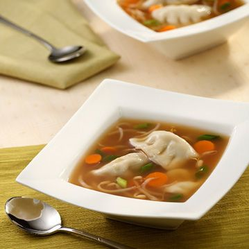 Quick & Easy Won Ton Soup - Recipe from Price Chopper
