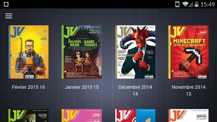 JV le mag, l'application Android pour lire l'un de nos magazines préférés - http://www.frandroid.com/applications/277606_il-est-maintenant-possible-de-lire-le-magazine-de-jeux-video-jv-sur-son-appareil-android  #ApplicationsAndroid