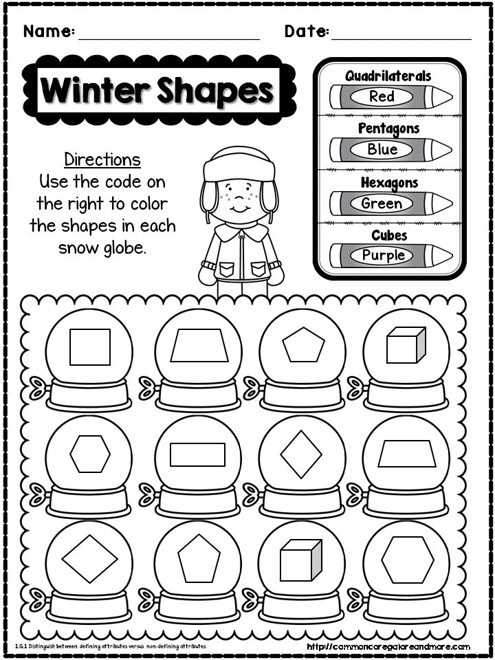 freebie sample page from my 1st grade winter no prep math pack beth kelly on tpt. Black Bedroom Furniture Sets. Home Design Ideas