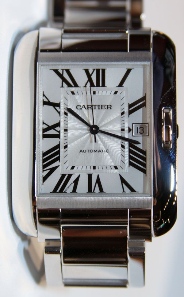 Cartier Tank Anglaise Watch. I have ALWAYS wanted one of these!