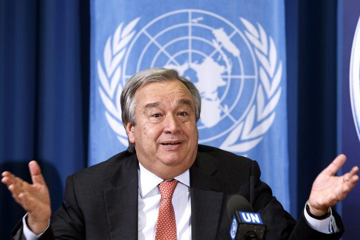 Expresso | Paz na Síria é a prioridade de Guterres