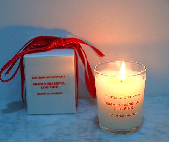 Simply Blissful Log Fire-Luxury scented by Caitierosenirvana