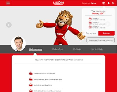 "Check out new work on my @Behance portfolio: ""Mockup web León Automotriz"" http://be.net/gallery/49802739/Mockup-web-Leon-Automotriz"