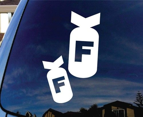 Best Artfire Windshield Banner Decals Images On Pinterest - Decals for trucks customizednailed it plumbers custom car decal that makes him look like